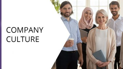 Company Culture Hero Poster Image