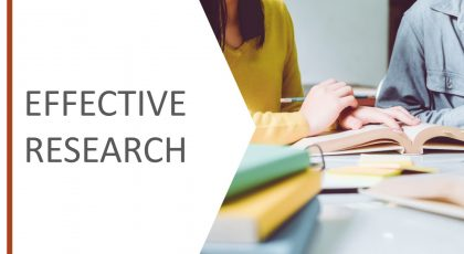 Effective Research v2