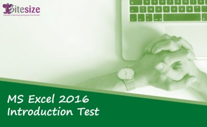 Excel introduction test