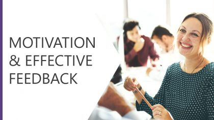 Motivation and Effective Feedback