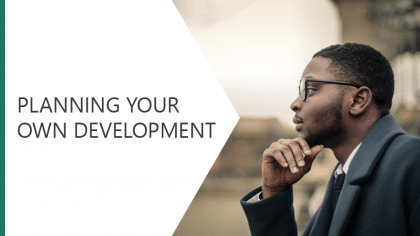 Planning Your Own Development