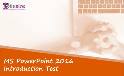 PowerPoint introduction test