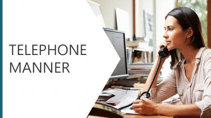 Telephone Manner