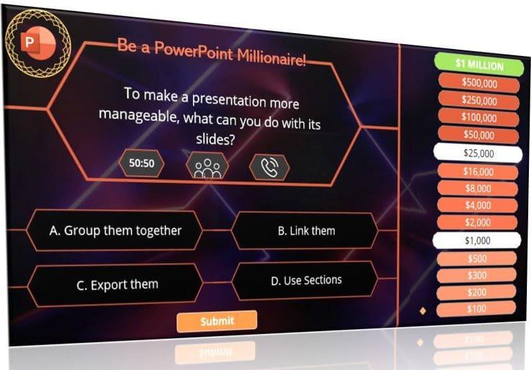 sales millionaire powerpoint