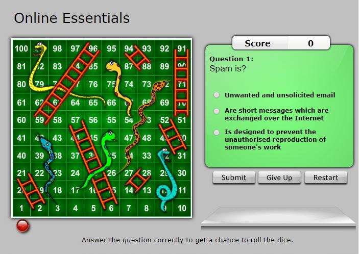 snakes ladders online essentials