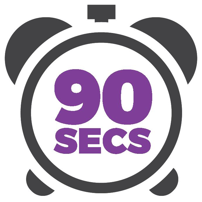 90 second learning