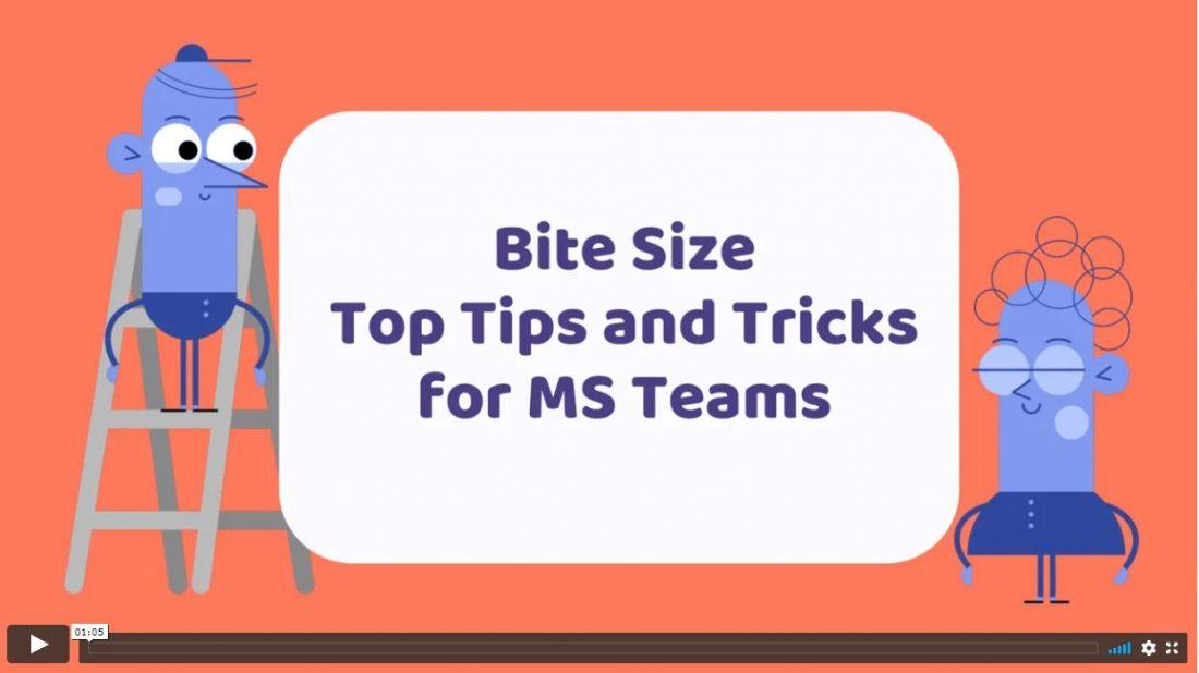 bitesize teams top tips