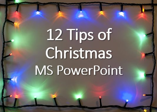 12 tips christmas powerpoint